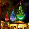 Lot de 3 lampes solaire PARTY TIME