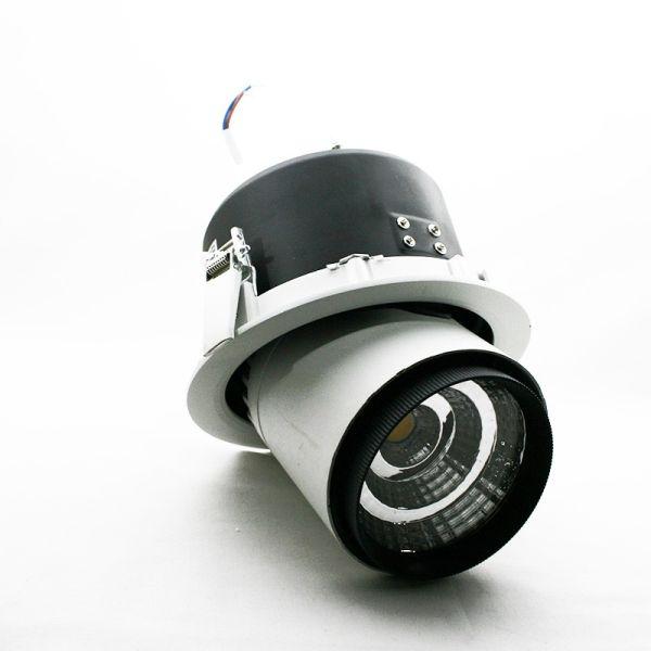 Spot LED escargot 25W Zoom