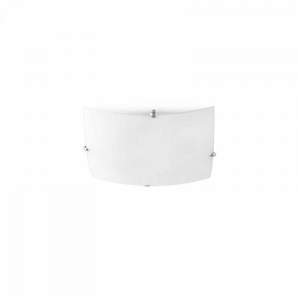 LIRIA-2P Lampe plafond nickel mat
