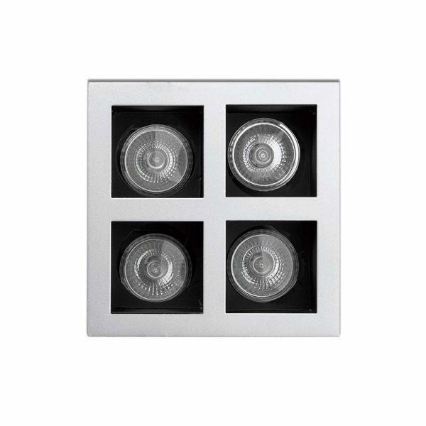 ONICE-4 Lampe encastrable gris