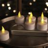 Lot de 6 bougies à LED rechargeables et leur station de charge