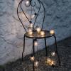 Guirlande led Deco ampoule blanc chaud