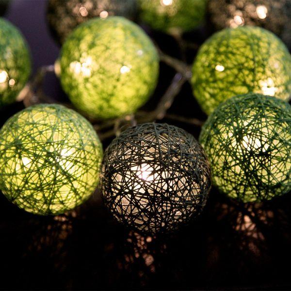 Guirlande LED JOLLY LIGHT Verte