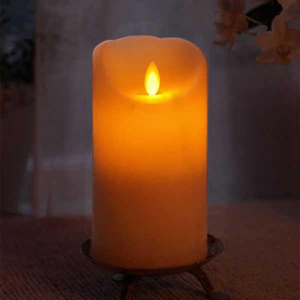 Candela LED in cera 15cm TWINKLE FLAMME