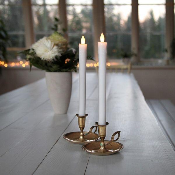Set de 2 bougies chandelles