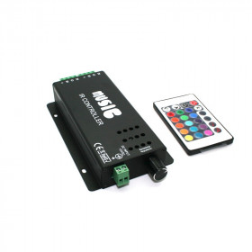 Controleur LED RGB musicale