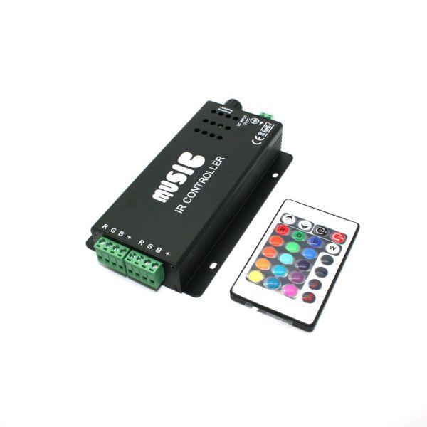 Controleur LED RGB musicale