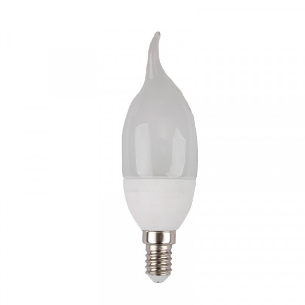 Bombilla led de Llama E14 6W Blanco cálido
