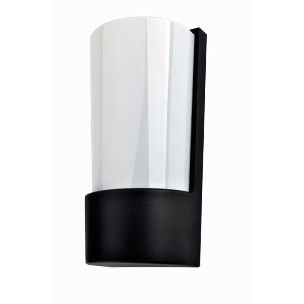 applique murale m tal noir moderne eclairage design. Black Bedroom Furniture Sets. Home Design Ideas
