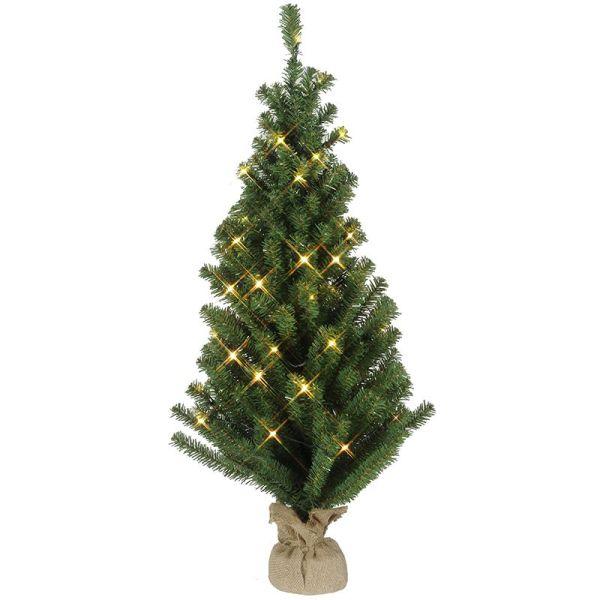 Árbol de navidad, luz de navidad, blanco cálido
