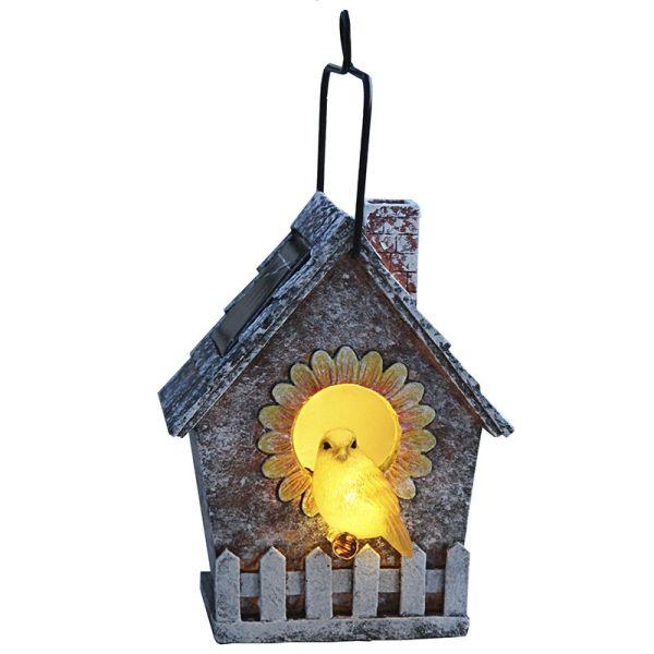 Déco solaire Bird House