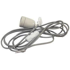 Cable avec douille E27 et prise