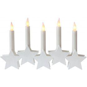 Bougeoir star Blanc