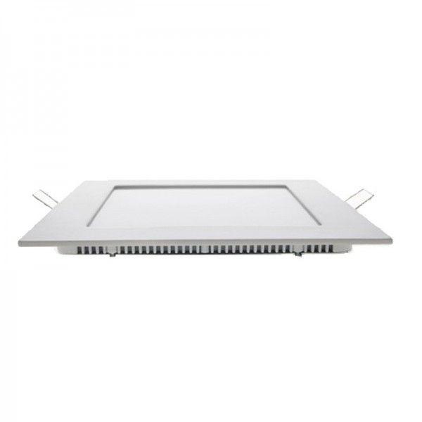 24W LED square blanc chaud + Driver
