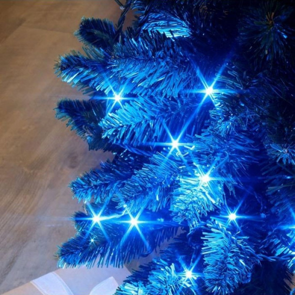 Guirlande flicker 25m 288 leds bleues