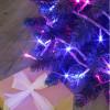 Guirlande flicker 128 leds bleues et roses