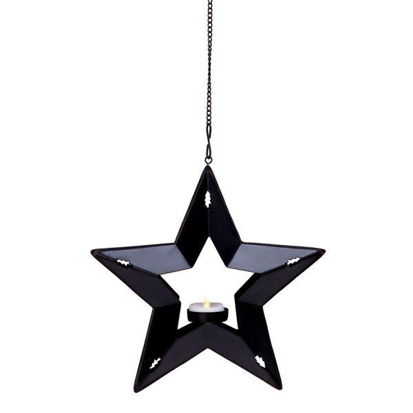 Photophore bougie LED étoile