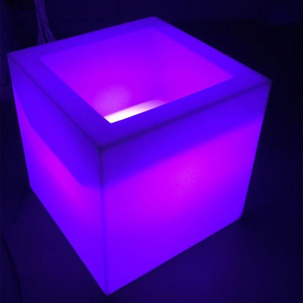 Cube lumineux creux secteur