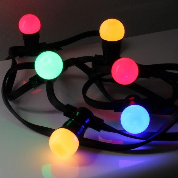 Guirlande B22 LED 10 mètres multicolore