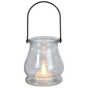 Bougie LED GLASS JAR