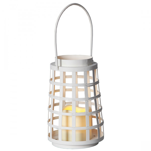 Lanterne LED métale round timer