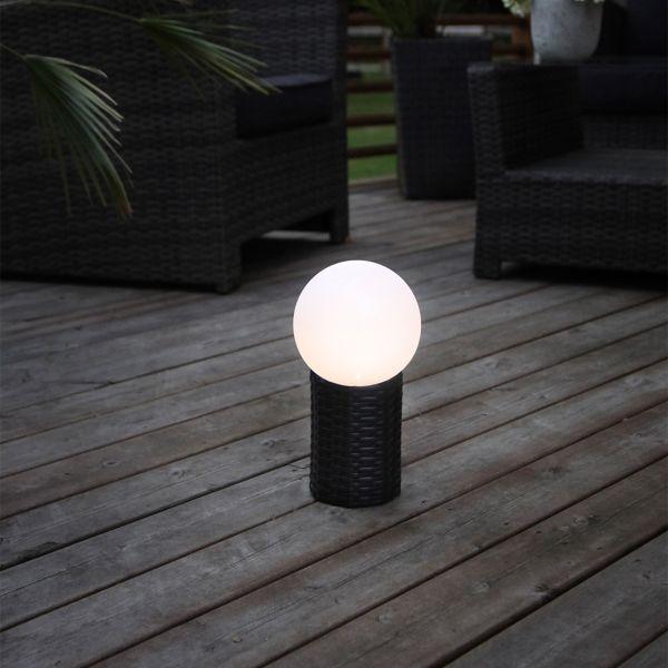 Lampe RATTAN Globe 28cm