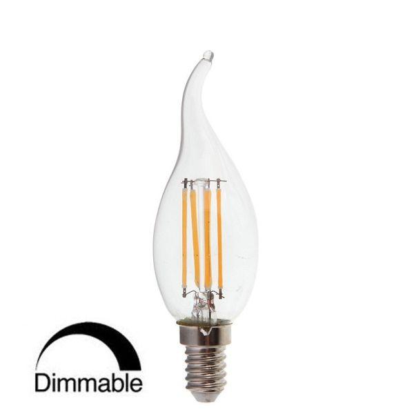 Ampoule Led Dimmabel Flamme E14 4W filament
