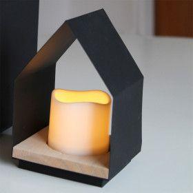 Bougie LED LANTERN HOME LED