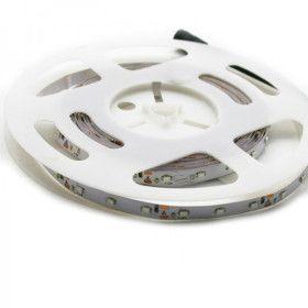 Strip LED 5Mètres SMD3528 - 60LEDs Blanc chaud IP20