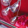 Guirlande d'ampoules transparentes blanc chaud