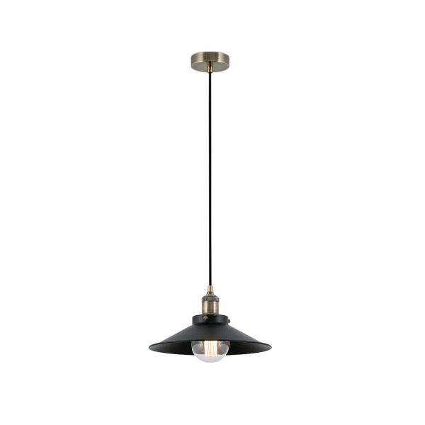 MARLIN Lampe suspension noir