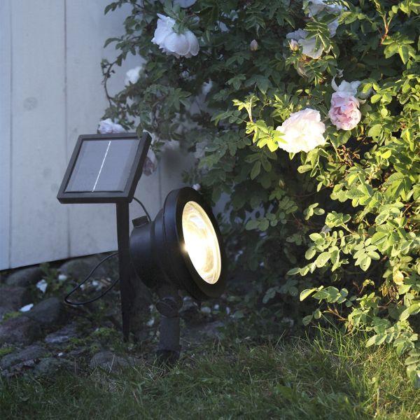 Spot solaire blanc chaud