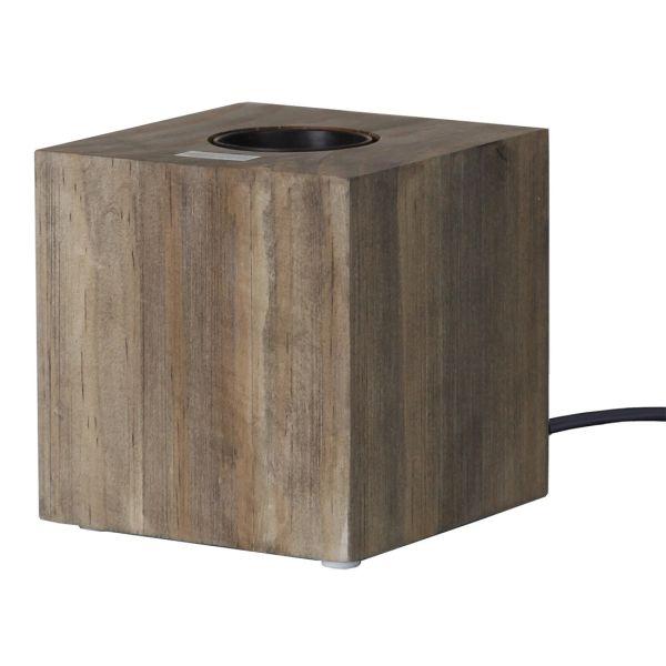La lámpara tiene que preguntar madera KUB
