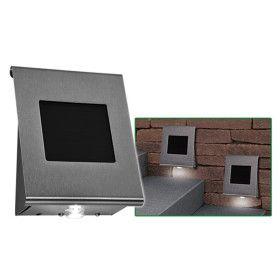 Applique solaire inox 2 LED