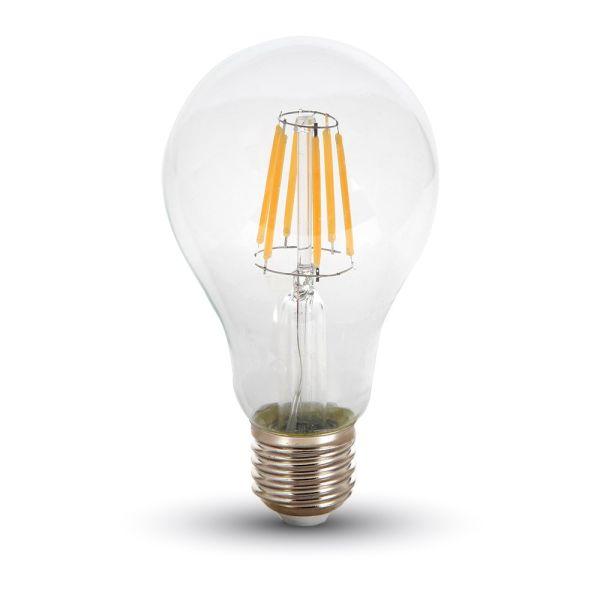 Bombilla LED E27 8W Filamento Blanco cálido