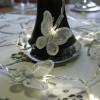 Guirlande papillons déco sur piles