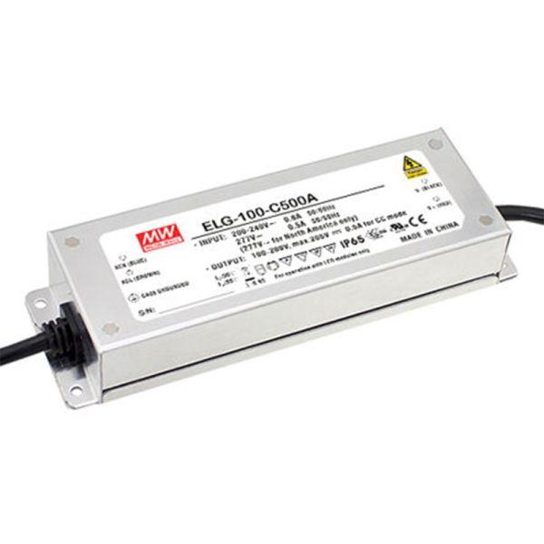 Transformateur MEANWELL ELG 100W 24VDC IP67