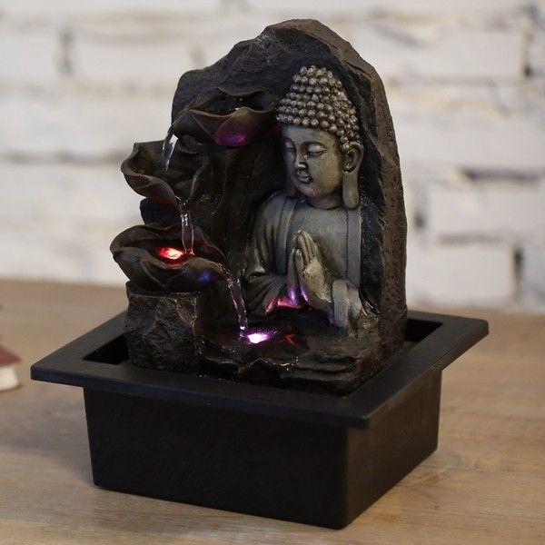 Fontaine Bouddha Spiritualité