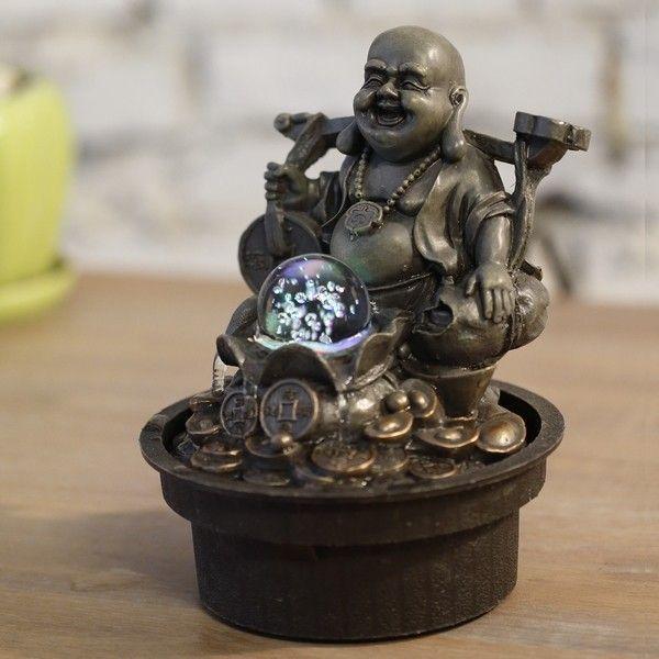 Fontaine Bouddha Voyageur