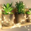 Guirlande 150 micro LED blanc chaud animée