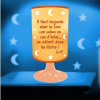 Lampe Projection - Il Faut Toujours Viser