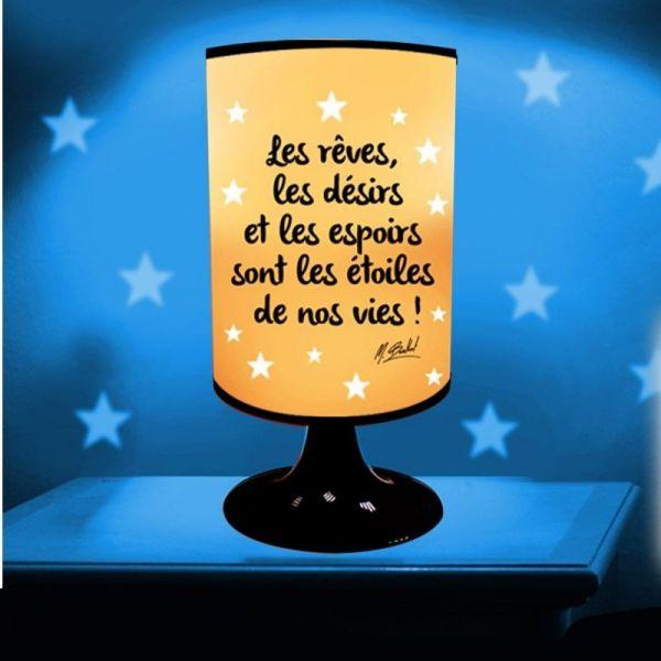 Lampe Projection Les Rêves, les Désirs et les Espoirs