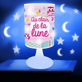 Lampe Projection Au Clair de la Lune