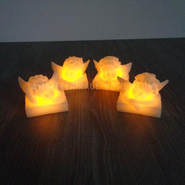 4 Bougies LED Angelots
