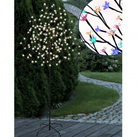Cerisier 180 LED 1M80 blanc chaud ou multicolore