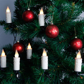 Guirlande led 10 bougies pour sapin