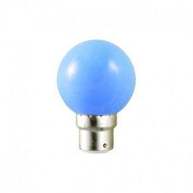 Ampoule Led Bleu 1W (9W) B22