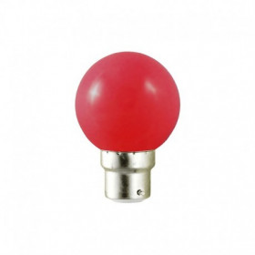 Ampoule Led Rouge 1W B22 (9W)