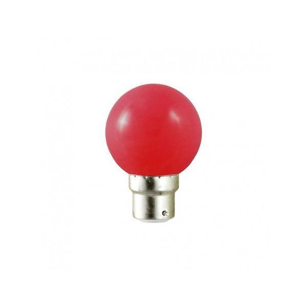 Ampoule Led Rouge 1W B22 (9W)