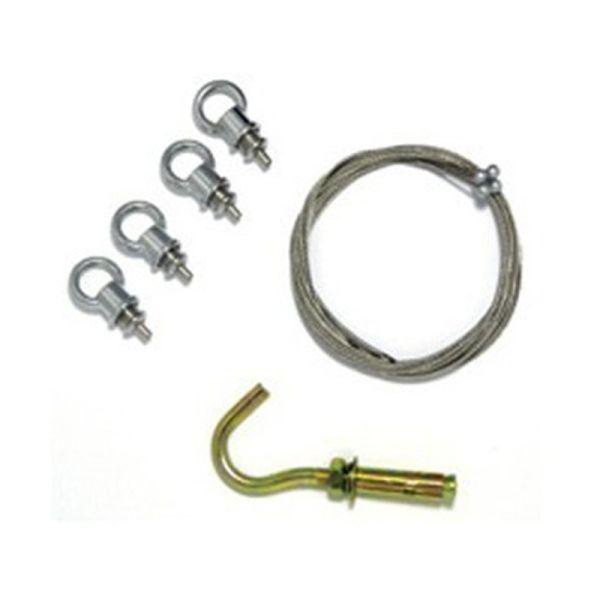 Kit de suspension pour dalles et plafonniers